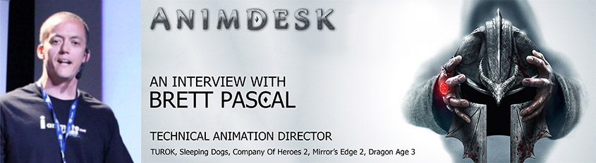 Animdesk Brett Pascal interview banner