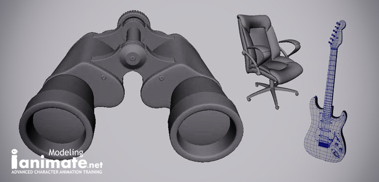 Modeling and Maya Intro. Workshop Student Samples