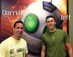 Interview with Insomniac animators Darrell Vasquez and Jeff Williams
